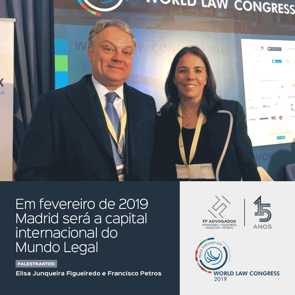 Em fevereiro de 2019, Madri se torna a capital internacional do mundo legal